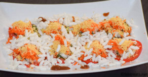 sev chaat recipe