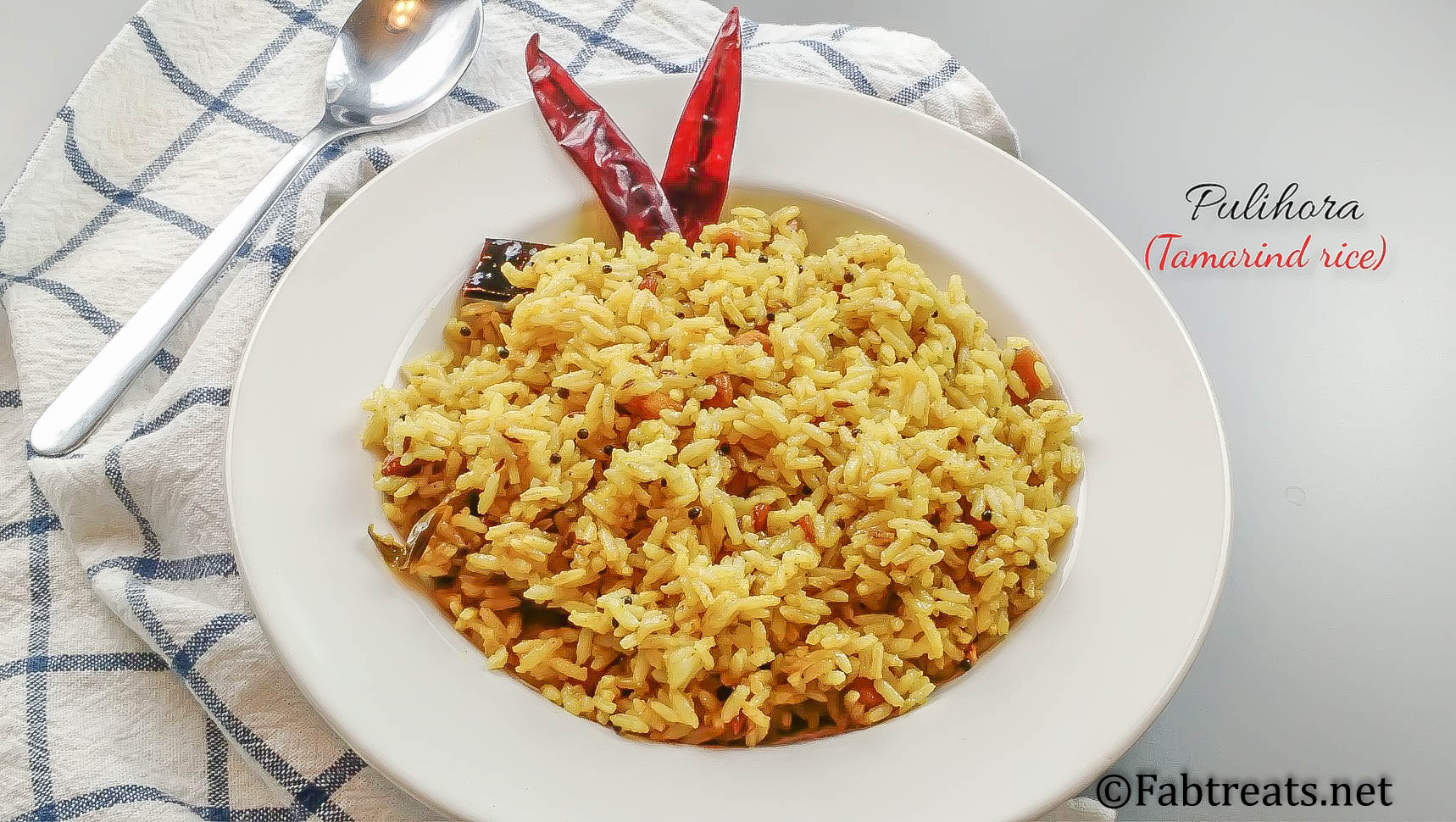Tamarind Rice With Pictures
